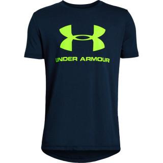 Copii - Boys' UA Sportstyle Logo Short Sleeve