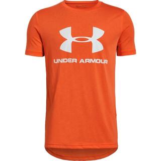 Boys' UA Sportstyle Logo Short Sleeve