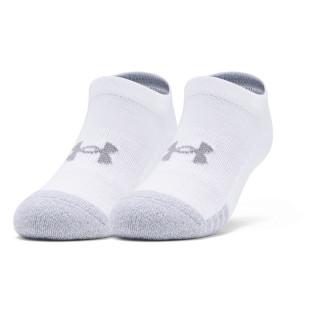 Boys' Youth HeatGear® No Show Socks 3-Pack