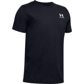 Copii - Boys' UA Sportstyle Left Chest Short Sleeve