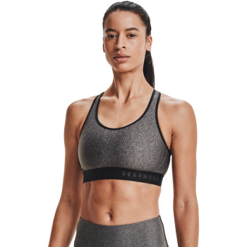 Women's ARMOUR MID KEYHOLE HEATHER BRA