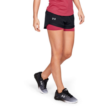 Women's UA QUALIFIER SPEEDPOCKET 2-IN-1 SHORT