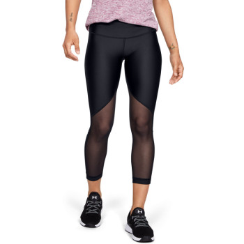 Women's UA HG Armour Mesh Ankle Crop - Graphic