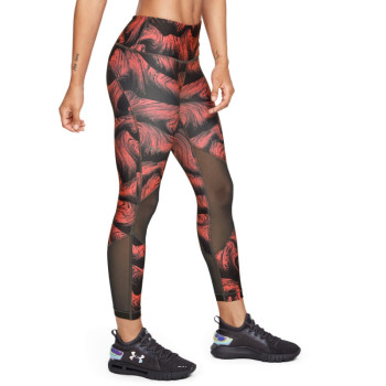 Women's UA HG Armour Mesh Ankle Crop - Print