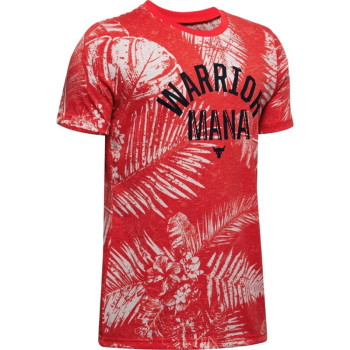 Boys' Project Rock Warrior Mana Short Sleeve
