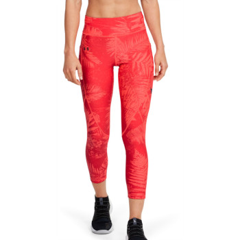 Women's UA PROJECT ROCK HG ARMOUR PRINTED ANKLE CROP