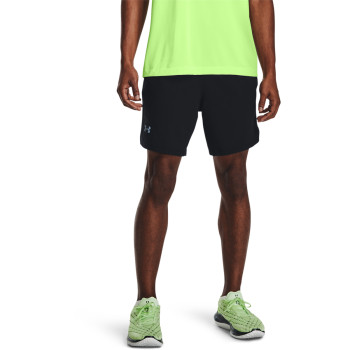 Men's UA LAUNCH SW 7   2N1 SHORT