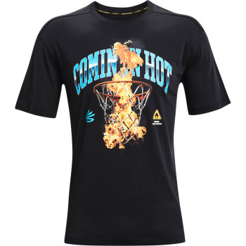 Men's CURRY COMING IN HOT TEE