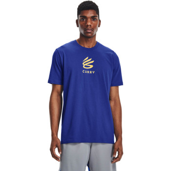 Men's CURRY UNDRTD SPLASH TEE