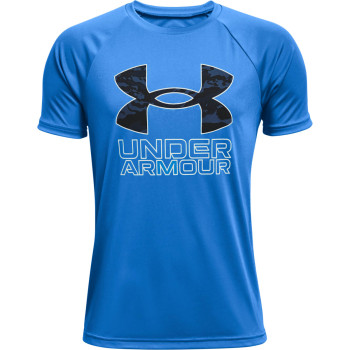 Boys' UA TECH HYBRID PRT FILL SS