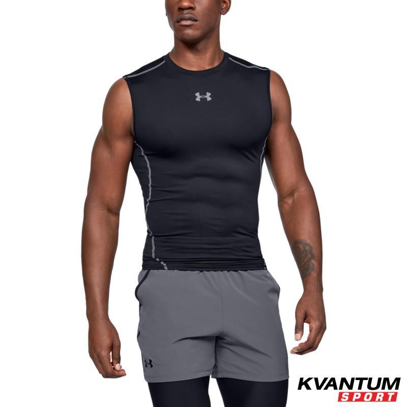 Men's UA HeatGear® Armour Sleeveless Compression Shirt