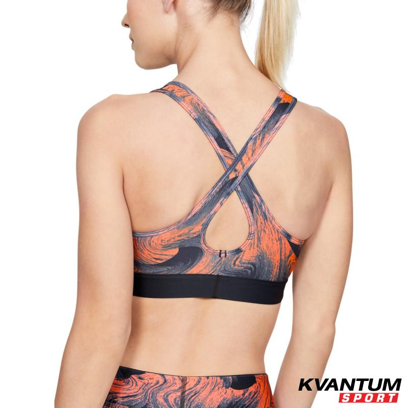 Women's  ARMOUR MID CROSSBACK PRINTED BRA