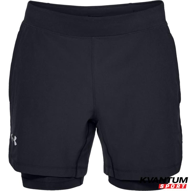 Men's UA QUALIFIER SPEEDPOCKET 2-N-1 SHORT