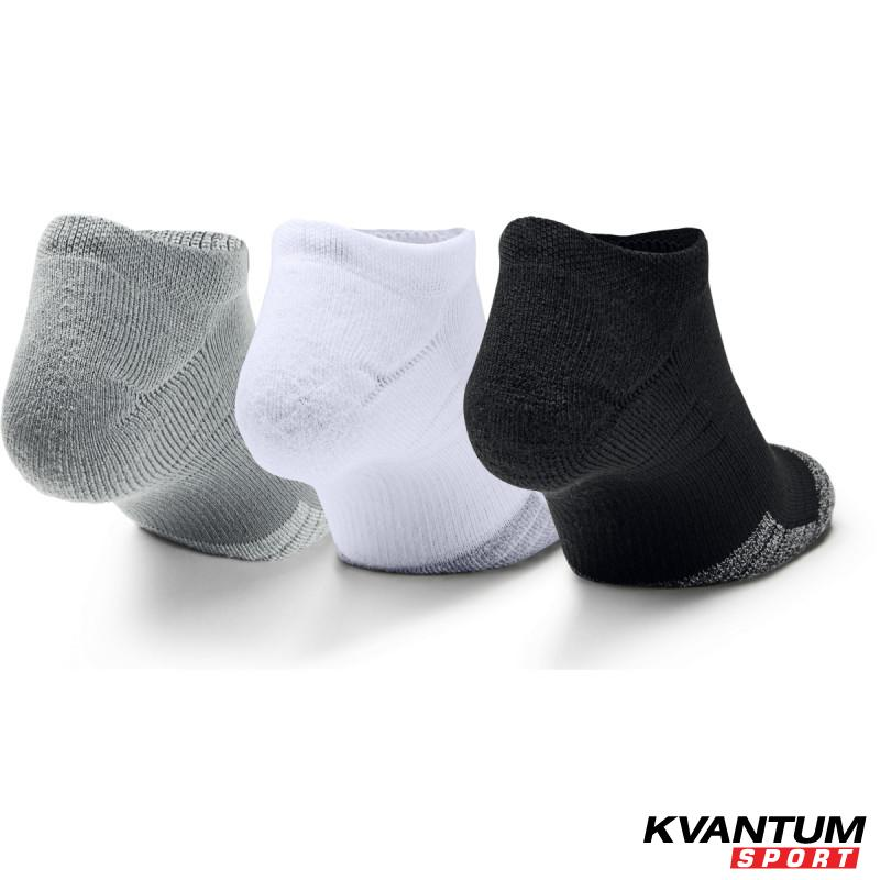 Adult HeatGear® No Show Socks 3-Pack