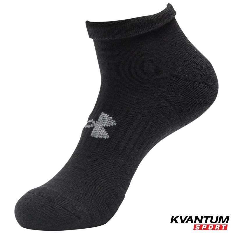 Adult UA Training Cotton Lo Cut Socks 3-Pack