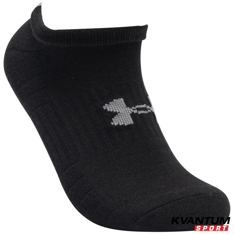 Unisex UA Training Cotton No Show Socks 3-Pack