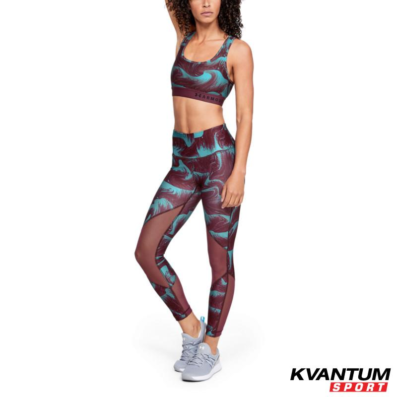 UA HG Armour Mesh Ankle Crop - Print
