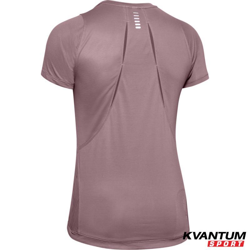 Women's UA Qualifier Iso-Chill Embossed Short Sleeve