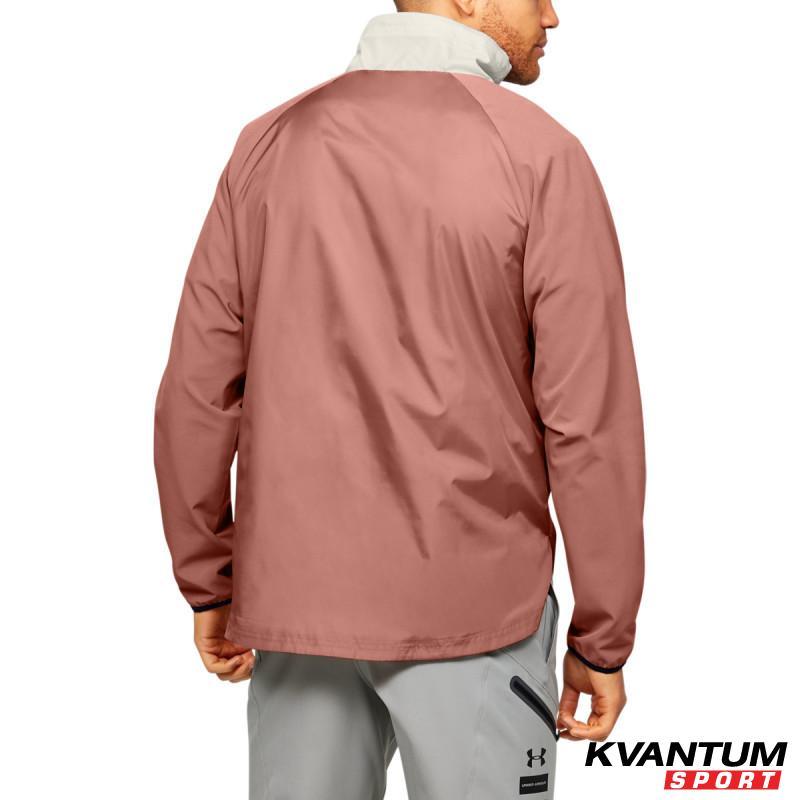 Men's UA Stretch Woven ½ Zip Jacket