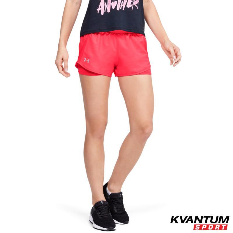 Women's UA Fly-By 2.0 Mini 2-in-1 Shorts
