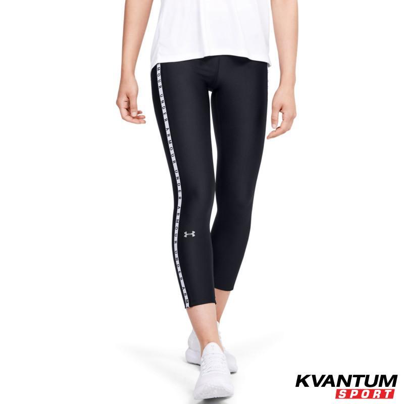 Women's HeatGear® Armour Vertical Branded Ankle Crop