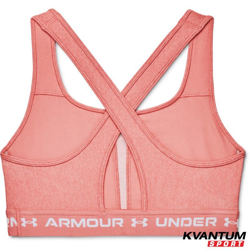 Women's UA CROSSBACK MID HEATHER BRA